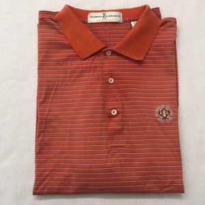 Fairway & Greene Orange Muirfield Village Polo